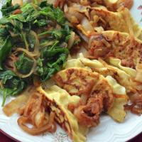 Parsnip & Spring Onion Pierogies