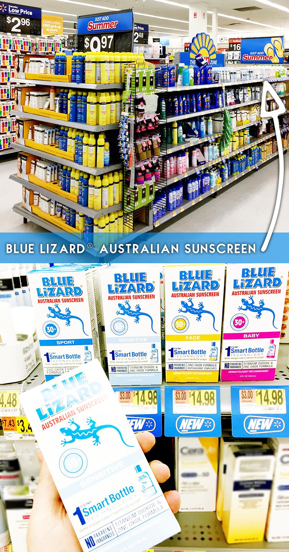 Blue Lizard® Australian Sunscreen Sensitive at Walmart