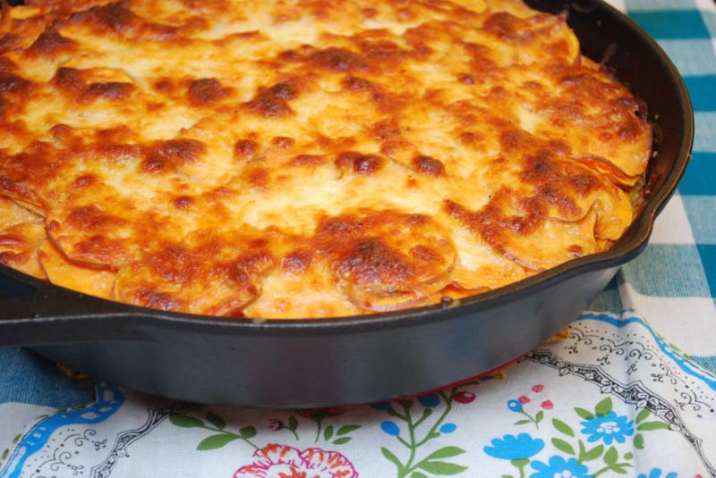 Creamy Chipotle Sweet Potato & Quinoa Casserole Recipe   Mary Makes Dinner