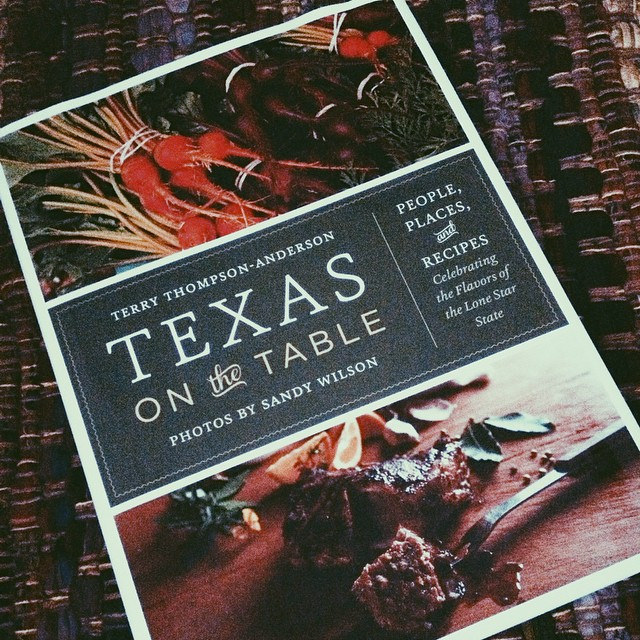 Texas on the Table by Sandy Wilson