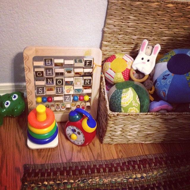Toy Bin | Nursery | Mary Makes Pretty