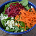 Spinach Salad with Quick Pickled Beets