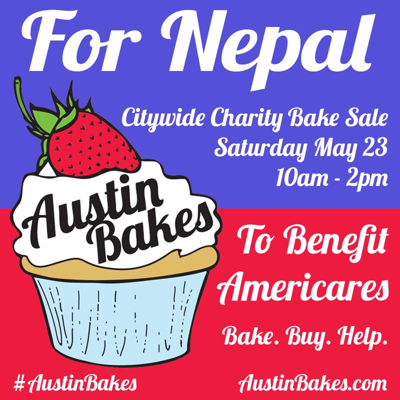 Austin Bakes for Nepal!