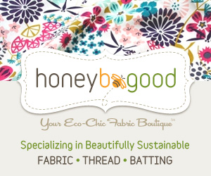 Thank you, Honey Be Good, for sponsoring The Handmade Mama!