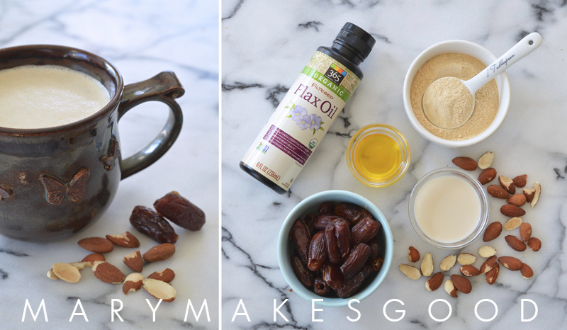 Vanilla Almond Hot Breakfast Smoothie with Whole Foods Market (Sponsored)