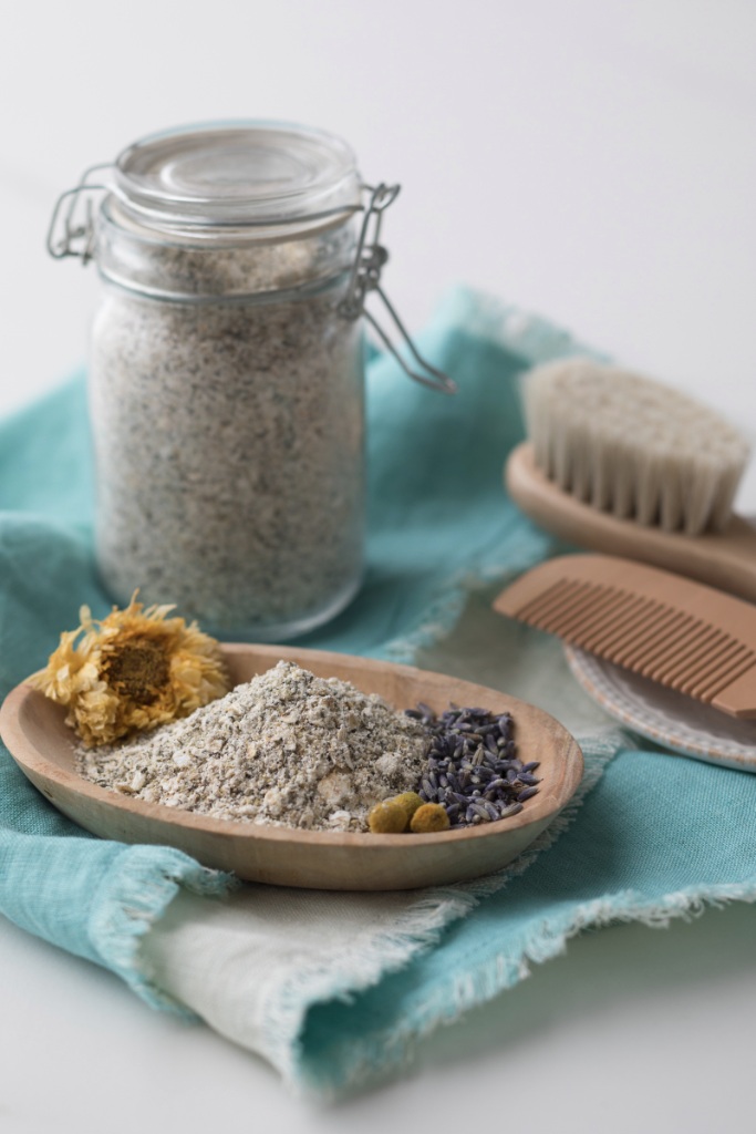 Oatmeal Baby Scrub | The Handmade Mama