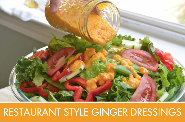 Restaurant Style Ginger Salad Dressing