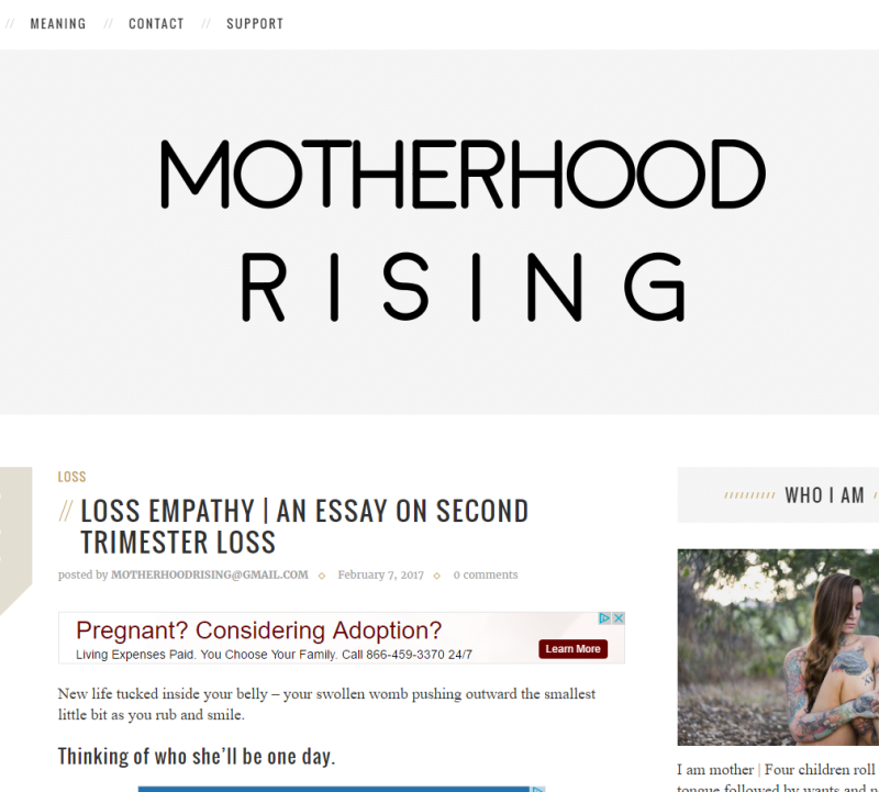 Motherhood Rising