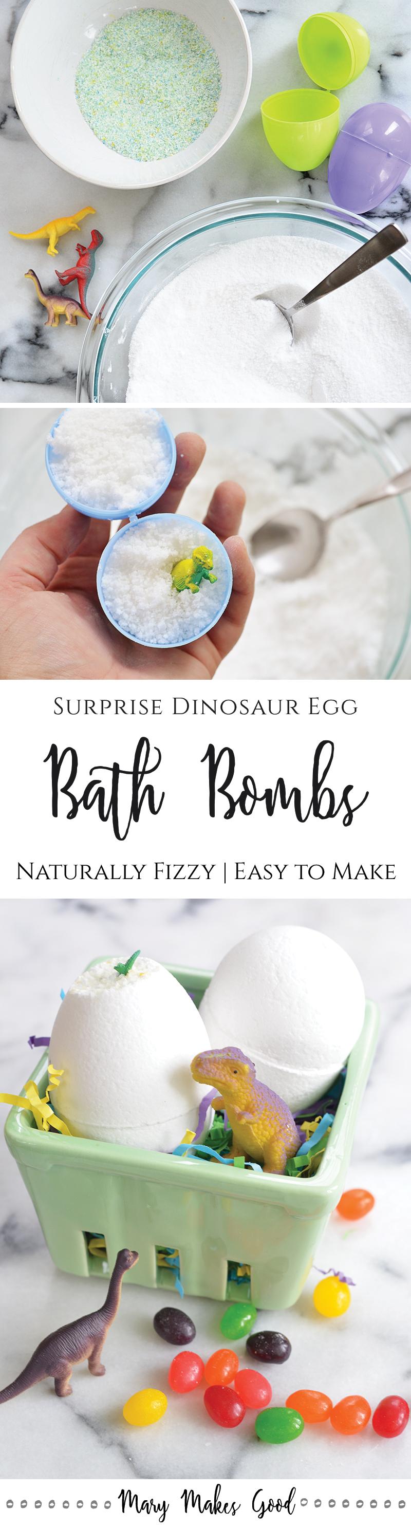 Dinosaur Egg Bath Bombs