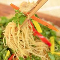 Pan-Fried Noodle Salad
