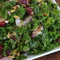 Sweet & Savory Kale Salad