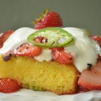 Strawberry Jalapeno Shortcake