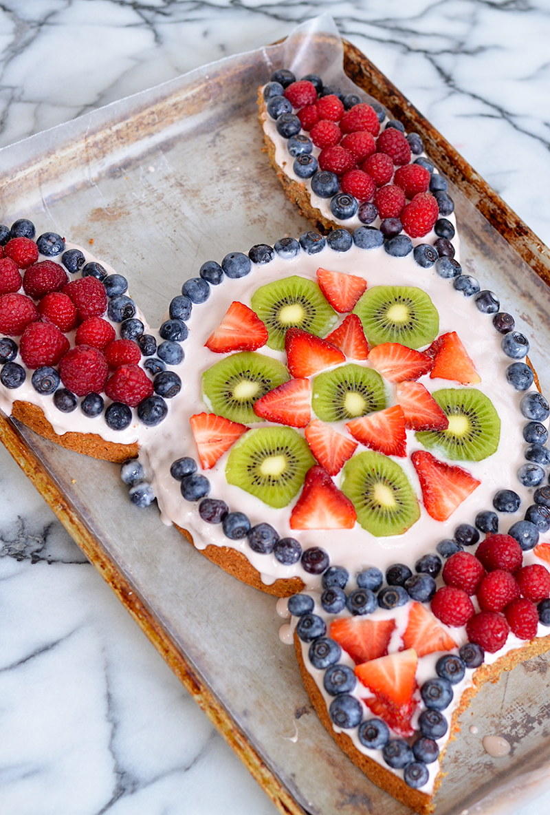 Bunny Cake Fruit 2
