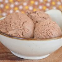 Smoked Chocolate Ice Cream